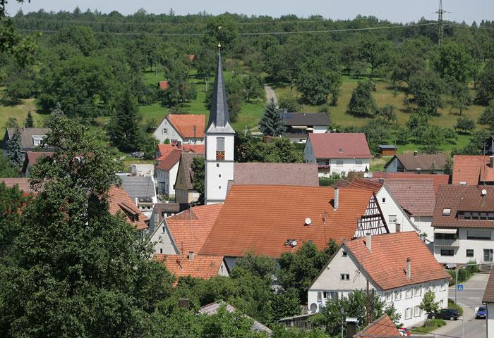 Kirche Ohmden