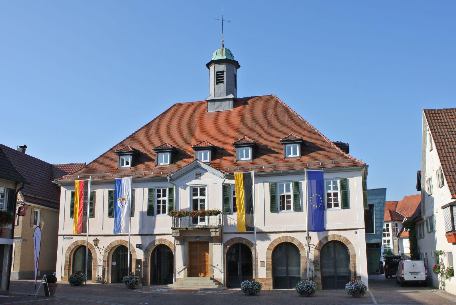 Rathaus Weilheim neu